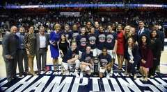 NCAA Women's Basketball - AAC Tournament Finals - #1 UConn 100 vs. #3 USF 44 (202)