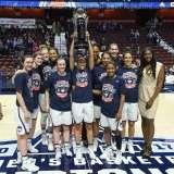 NCAA Women's Basketball - AAC Tournament Finals - #1 UConn 100 vs. #3 USF 44 (204)