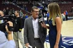 NCAA Women's Basketball - AAC Tournament Finals - #1 UConn 100 vs. #3 USF 44 (207)