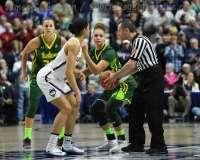 NCAA Women's Basketball - AAC Tournament Finals - #1 UConn 100 vs. #3 USF 44 (33)
