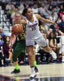 NCAA Women's Basketball - AAC Tournament Finals - #1 UConn 100 vs. #3 USF 44 (37)