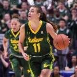 NCAA Women's Basketball - AAC Tournament Finals - #1 UConn 100 vs. #3 USF 44 (51)