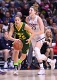 NCAA Women's Basketball - AAC Tournament Finals - #1 UConn 100 vs. #3 USF 44 (52)