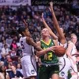 NCAA Women's Basketball - AAC Tournament Finals - #1 UConn 100 vs. #3 USF 44 (60)