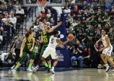 NCAA Women's Basketball - AAC Tournament Finals - #1 UConn 100 vs. #3 USF 44 (64)