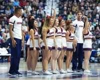 NCAA Women's Basketball - AAC Tournament Finals - #1 UConn 100 vs. #3 USF 44 (66)