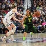 NCAA Women's Basketball - AAC Tournament Finals - #1 UConn 100 vs. #3 USF 44 (71)