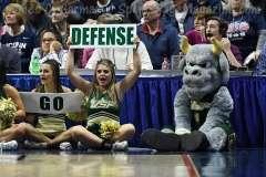 NCAA Women's Basketball - AAC Tournament Finals - #1 UConn 100 vs. #3 USF 44 (73)