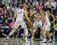 NCAA Women's Basketball - AAC Tournament Finals - #1 UConn 100 vs. #3 USF 44 (98)