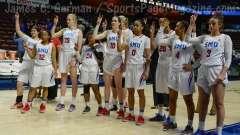 NCAA Women's Basketball - AAC Tournament FR - #6 SMU 60 vs. #11 East Carolina 54 - Photo# (102)