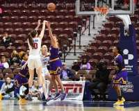 NCAA Women's Basketball - AAC Tournament FR - #6 SMU 60 vs. #11 East Carolina 54 - Photo# (11)