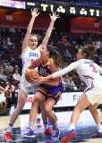 NCAA Women's Basketball - AAC Tournament FR - #6 SMU 60 vs. #11 East Carolina 54 - Photo# (27)