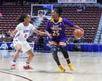 NCAA Women's Basketball - AAC Tournament FR - #6 SMU 60 vs. #11 East Carolina 54 - Photo# (28)
