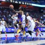 NCAA Women's Basketball - AAC Tournament FR - #6 SMU 60 vs. #11 East Carolina 54 - Photo# (29)