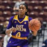 NCAA Women's Basketball - AAC Tournament FR - #6 SMU 60 vs. #11 East Carolina 54 - Photo# (31)