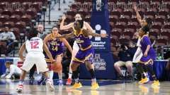 NCAA Women's Basketball - AAC Tournament FR - #6 SMU 60 vs. #11 East Carolina 54 - Photo# (35)