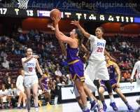NCAA Women's Basketball - AAC Tournament FR - #6 SMU 60 vs. #11 East Carolina 54 - Photo# (37)