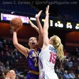 NCAA Women's Basketball - AAC Tournament FR - #6 SMU 60 vs. #11 East Carolina 54 - Photo# (41)