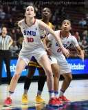NCAA Women's Basketball - AAC Tournament FR - #6 SMU 60 vs. #11 East Carolina 54 - Photo# (47)