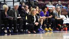 NCAA Women's Basketball - AAC Tournament FR - #6 SMU 60 vs. #11 East Carolina 54 - Photo# (52)