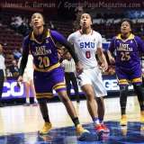 NCAA Women's Basketball - AAC Tournament FR - #6 SMU 60 vs. #11 East Carolina 54 - Photo# (63)