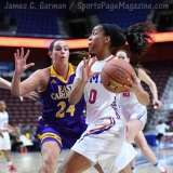 NCAA Women's Basketball - AAC Tournament FR - #6 SMU 60 vs. #11 East Carolina 54 - Photo# (64)