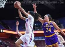 NCAA Women's Basketball - AAC Tournament FR - #6 SMU 60 vs. #11 East Carolina 54 - Photo# (65)