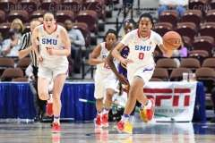 NCAA Women's Basketball - AAC Tournament FR - #6 SMU 60 vs. #11 East Carolina 54 - Photo# (70)