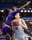 NCAA Women's Basketball - AAC Tournament FR - #6 SMU 60 vs. #11 East Carolina 54 - Photo# (72)