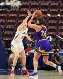 NCAA Women's Basketball - AAC Tournament FR - #6 SMU 60 vs. #11 East Carolina 54 - Photo# (80)