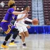NCAA Women's Basketball - AAC Tournament FR - #6 SMU 60 vs. #11 East Carolina 54 - Photo# (82)