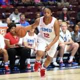 NCAA Women's Basketball - AAC Tournament FR - #6 SMU 60 vs. #11 East Carolina 54 - Photo# (85)
