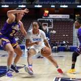 NCAA Women's Basketball - AAC Tournament FR - #6 SMU 60 vs. #11 East Carolina 54 - Photo# (87)