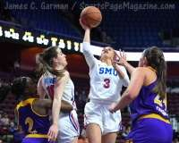 NCAA Women's Basketball - AAC Tournament FR - #6 SMU 60 vs. #11 East Carolina 54 - Photo# (93)