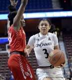 Gallery NCAA Women's Bastketball; AAC Tournament FR - #7 Cincinnati 61 vs. #10 Houston 74 (15)