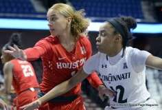 Gallery NCAA Women's Bastketball; AAC Tournament FR - #7 Cincinnati 61 vs. #10 Houston 74 (17)