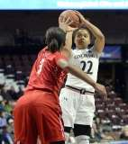 Gallery NCAA Women's Bastketball; AAC Tournament FR - #7 Cincinnati 61 vs. #10 Houston 74 (25)