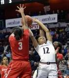 Gallery NCAA Women's Bastketball; AAC Tournament FR - #7 Cincinnati 61 vs. #10 Houston 74 (51)