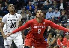Gallery NCAA Women's Bastketball; AAC Tournament FR - #7 Cincinnati 61 vs. #10 Houston 74 (52)