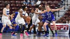 NCAA Women's Basketball - AAC Tournament FR - #8 Memphis 55 vs. #9 Tulsa 60 - Photo # (28)