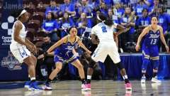 NCAA Women's Basketball - AAC Tournament FR - #8 Memphis 55 vs. #9 Tulsa 60 - Photo # (37)