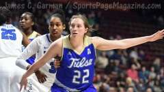 NCAA Women's Basketball - AAC Tournament FR - #8 Memphis 55 vs. #9 Tulsa 60 - Photo # (44)