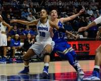 NCAA Women's Basketball - AAC Tournament FR - #8 Memphis 55 vs. #9 Tulsa 60 - Photo # (45)
