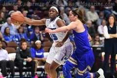NCAA Women's Basketball - AAC Tournament FR - #8 Memphis 55 vs. #9 Tulsa 60 - Photo # (66)