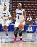 NCAA Women's Basketball - AAC Tournament FR - #8 Memphis 55 vs. #9 Tulsa 60 - Photo # (72)