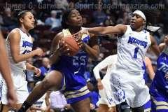NCAA Women's Basketball - AAC Tournament FR - #8 Memphis 55 vs. #9 Tulsa 60 - Photo # (76)