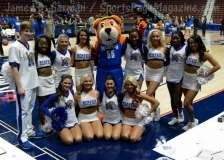 NCAA Women's Basketball - AAC Tournament FR - #8 Memphis 55 vs. #9 Tulsa 60 - Photo # (8)