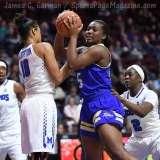 NCAA Women's Basketball - AAC Tournament FR - #8 Memphis 55 vs. #9 Tulsa 60 - Photo # (80)