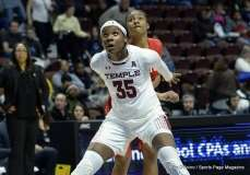 Gallery NCAA Women's Basketball; AAC Tournament QF's - #2 Temple 67 vs. #10 Houston 58 (21)