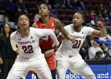Gallery NCAA Women's Basketball; AAC Tournament QF's - #2 Temple 67 vs. #10 Houston 58 (35)